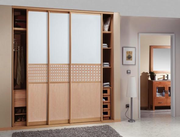 Montilla decoracion frentes de armarios armarios - Armarios empotrados de aluminio ...