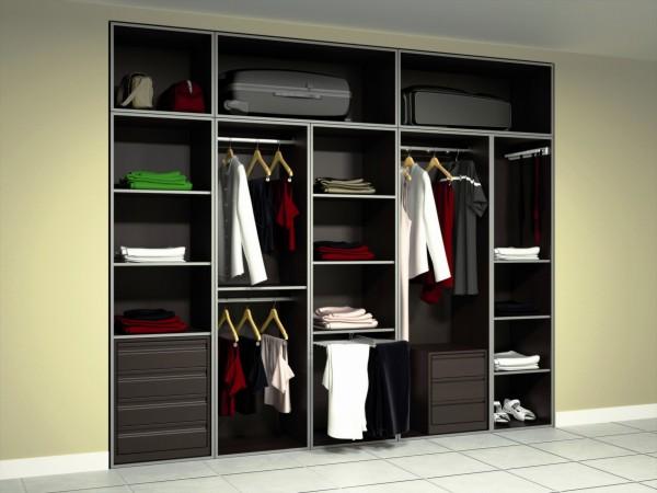 mamparas de bao frente de armarios interiores - Interiores De Armarios